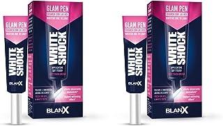 """BlanX: White Shock""""Blanx Pen"""" Glam Smile Gel Pen 12ml / 0.40fl.oz, Pack of 2"""