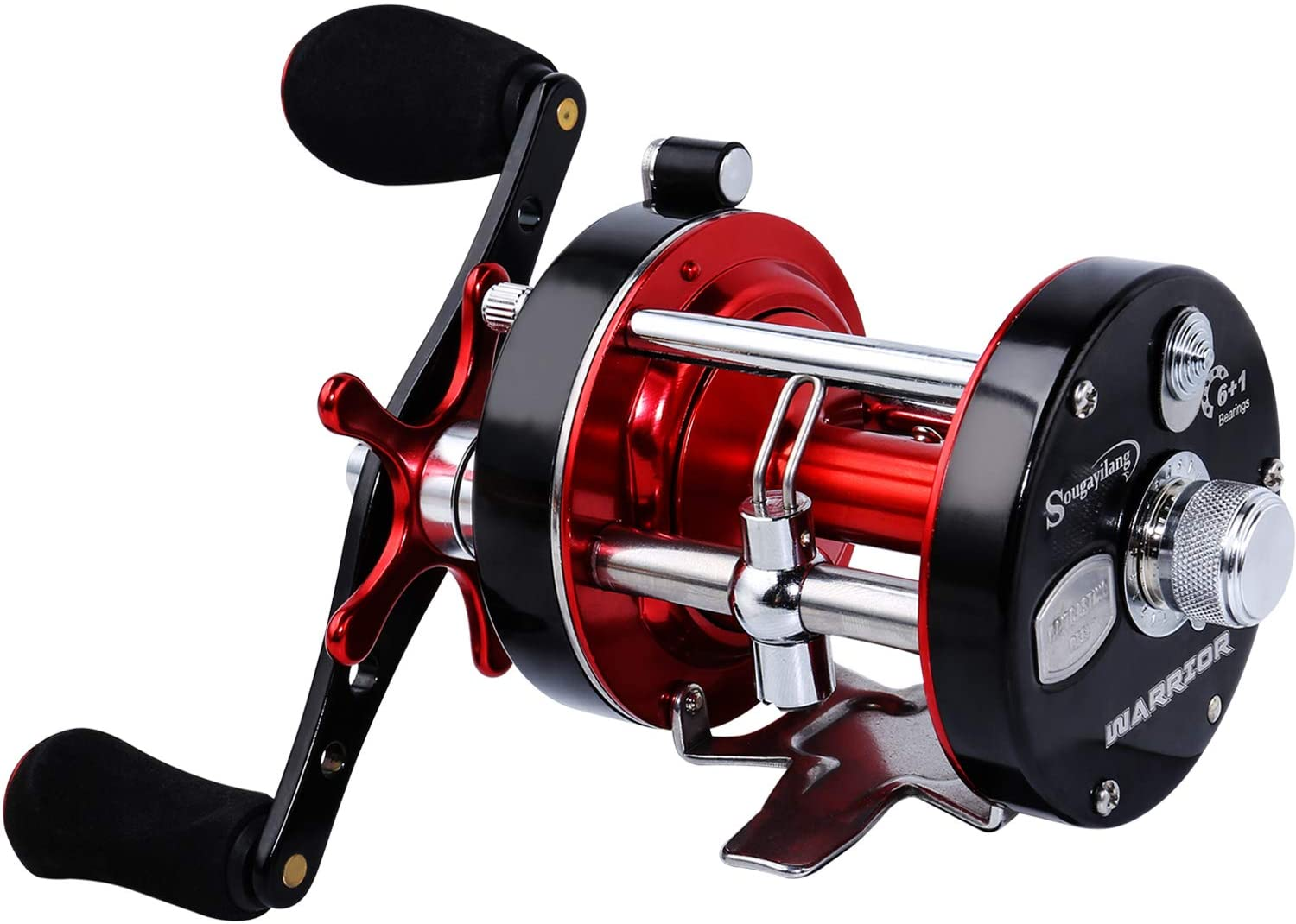 SEAL limited product Sougayilang Fishing Reels Round Baitcasting Reel Conventional - Financial sales sale