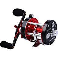 Sougayilang Fishing reels Round Baitcasting Reel - Conventional Reel - Reinforced Metal Body and...