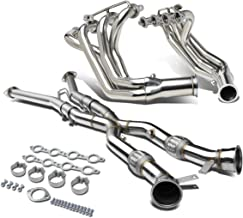 For Chevy Corvette 5.7L C5 V8 High Performance 4-1 Stainless Steel Exhaust header with X-Pipe