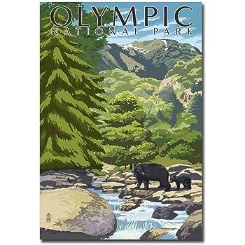 """Washington Refrigerator Magnets Size 2.5/""""x 3.5/"""" Olympic National Park"""