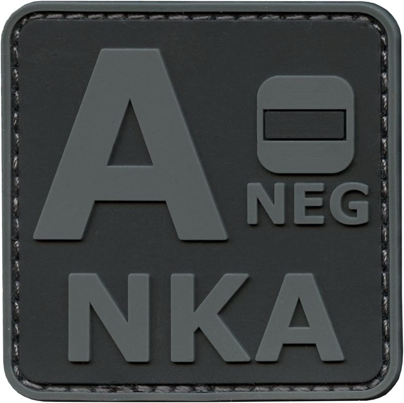 LEGEEON Max 57% OFF Blackout Classic Subdued ANEG A- NKA Known Type Blood Allergi No