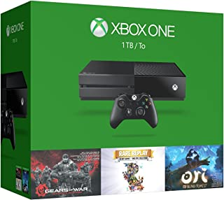 Xbox One 1TB Console - 3 Games Holiday Bundle (Gears of War: Ultimate Edition + Rare Replay + Ori and the Blind Forest)