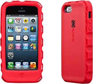 Speck Products ToughSkin Case with Belt Clip for iPhone 5  - Pomodoro Red/Black