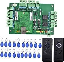 Generic Door Gate Access Control System Kit met 2 Kaartlezers En 20 Sleutelhangers Zwart