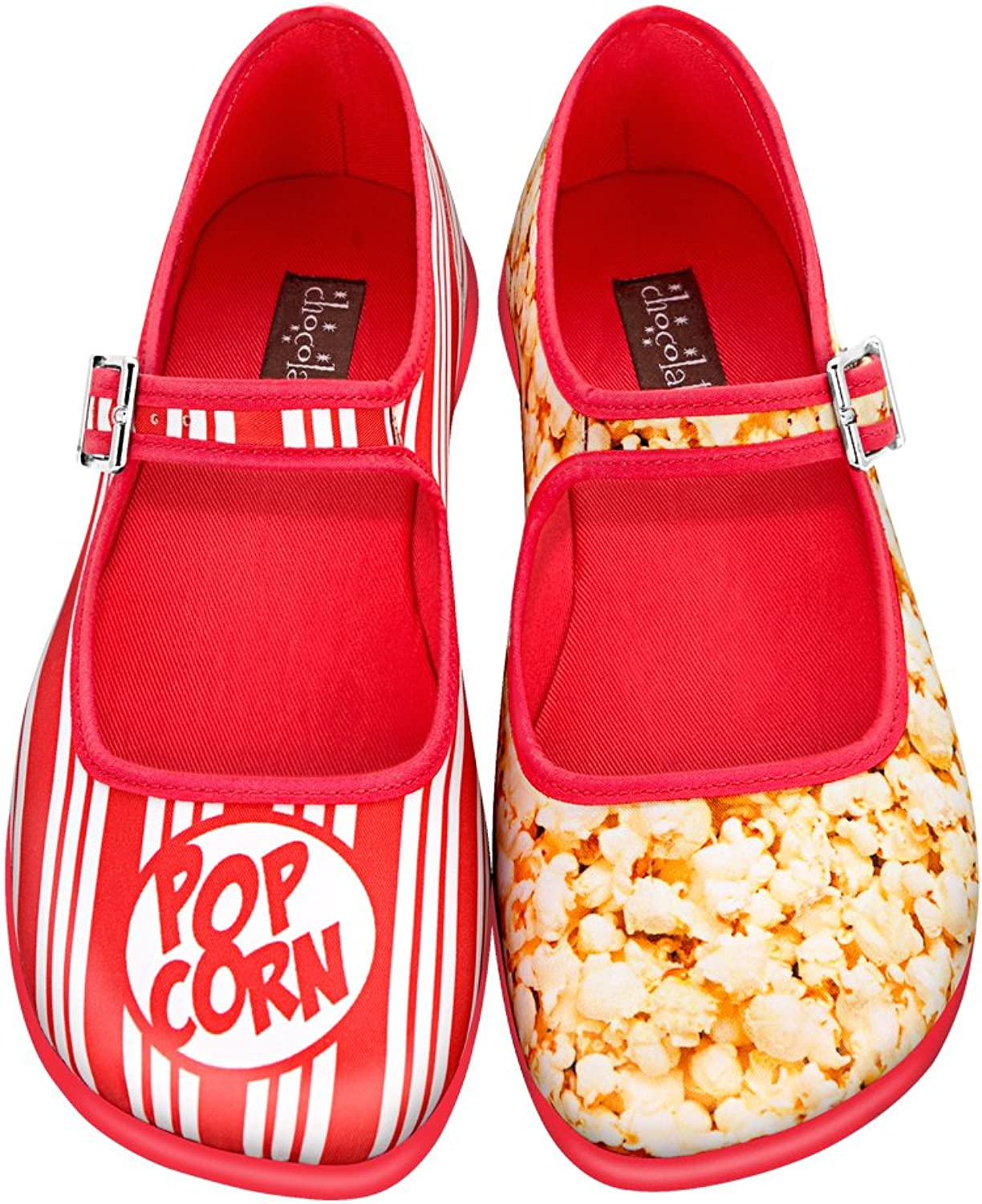 Hot Chocolate Design Chocolaticas Popcorn Women's Mary Jane Flat
