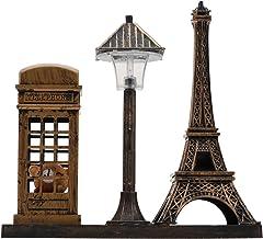 Healifty Eiffeltoren Lamp Eiffeltoren LED Nachtlampje Decoratieve Metalen Parijs Frankrijk Eiffeltoren Model Desktop Decor...