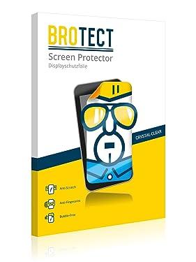 2X BROTECT HD-Clear Screen Protector for Armbanduhren (Circular, Diameter: 31mm), Crystal-Clear, Hard-Coated, Dirt-Repellent