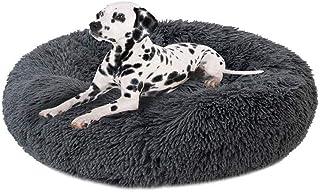 Fengzhe Deluxe Round Pet Bett/Haustier-Nest für Hunde und Katzen, mit Reißverschluss, leicht zu entfernen und zu waschen, Kissen für Katzen/Hunde, 60 cm-120 cm / 5 Größen