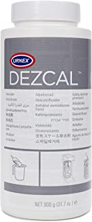 Urnex Dezcal Coffee and Espresso Machine Descaler Activated Scale Remover - 900g Bottle - Fast Effective Descaling Of Boil...