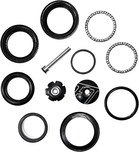 """UK 44mm Bike Sealed Bearings Headset 1-1//8/"""" MTB Road Bicycle Fork Steerer Parts"""