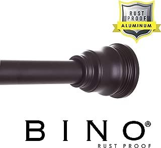 BINO Rust Proof Aluminum Tension Shower Curtain Rod - Bronze - 42