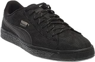 PUMA Men's Basket Rainbow Reflective Black/Dark Shadow Athletic Shoe