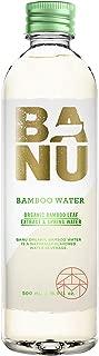 BANU Organic Bamboo Water 16.9 oz (Pack of 12)
