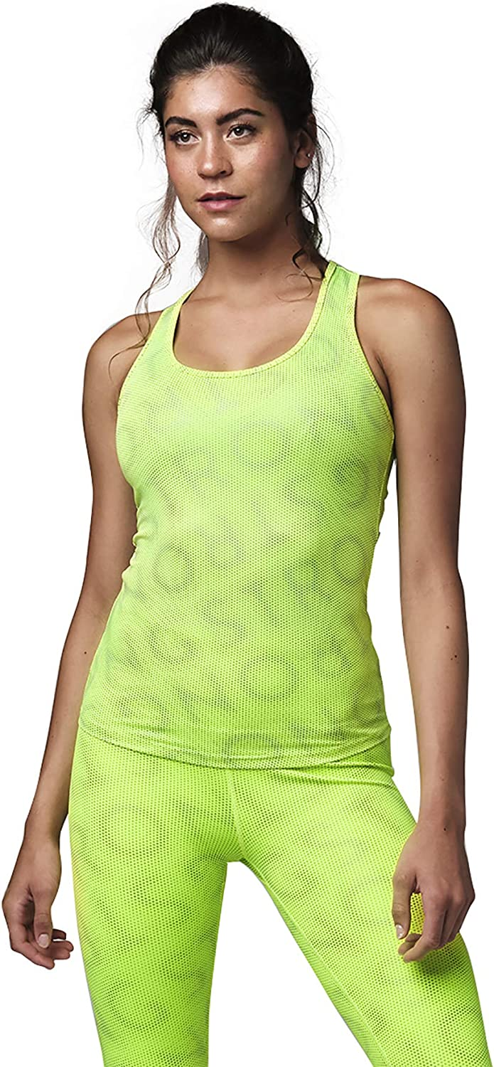 STRONG iD Easy Fit Tank Tops for Women Active Performance Workout Exercise Top