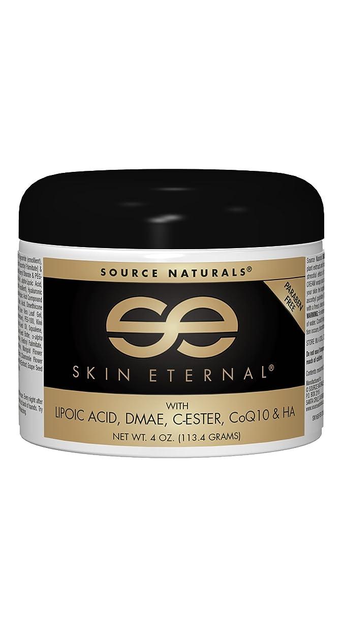 受動的槍フレッシュ海外直送品Source Naturals Skin Eternal Cream, 4 Oz