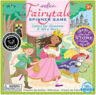 eeBoo Fairy Tale Spinner Board Game