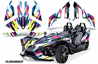 AMR Racing Graphics Polaris Slingshot SL 2015-2016 Vinyl Wrap Full Kit - Flashback