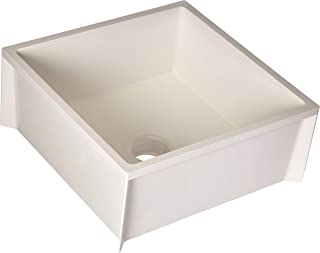 Mustee 63M Durastone Material Mop Sink, White