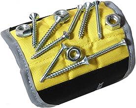Magnelex Mıknatıslı bileklik tutucu aletler, vidalar, çiviler, vidalar, vidalar, delme uçları için. Erkekler, babalar, eşl...