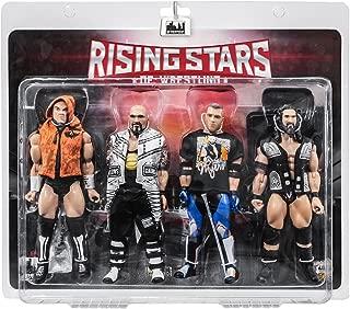 Rising Stars of Wrestling Series Action Figures Series Four Pack: Sami Calihan, Doc Gallows, Brian Myers, Tama Tonga