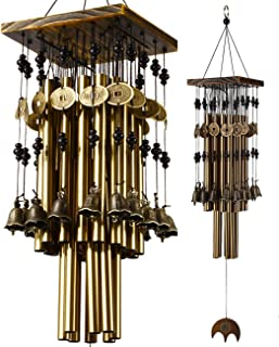 Best YLYYCC Brass Tube Wind Chimes Copper Bell Decoration Wind Chime Gift (24# Wind Chime) Review