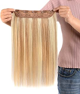 one piece clip in remy hair extensions