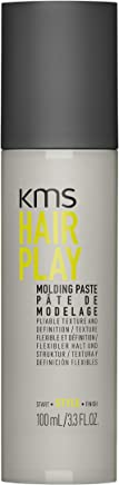 KMS HAIRPLAY Molding Paste Provides Texture, Natural Shine, Pliable Hold and Definition Unisex, 3.3 Ounce