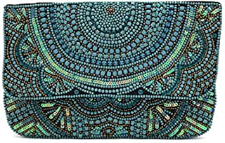 HandCrafted Beaded Evening Clutch- Sling Bag for all Occasion