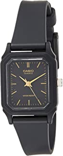 Casio Womens Quartz Watch, Analog Display and Resin Strap