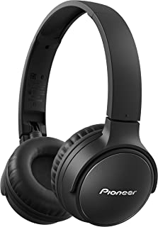 Pioneer SE-S3BT-B Auriculares estéreo inalámbricos, SE-S3BT(B), Color Negro, Mediano