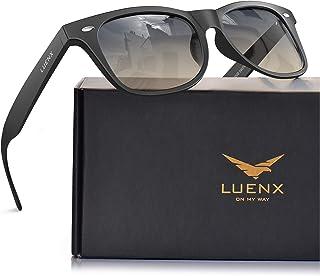 LUENX نظارات شمسية رجالي مستقطبة للنساء: حماية من الأشعة فوق البنفسجية 400