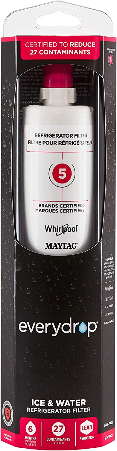 Everydrop by Whirlpool Refrigerator Water Pa Factory outlet EDR5RXD1 Filter 5 Ranking TOP16