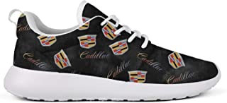 Mens Running Shoes Stylish Cadillac-3D-effect-flag-infinity- Training Shoes Designer Cute Sports Shoes