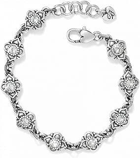 Alcazar Swarovski Crystal Silver Bracelet
