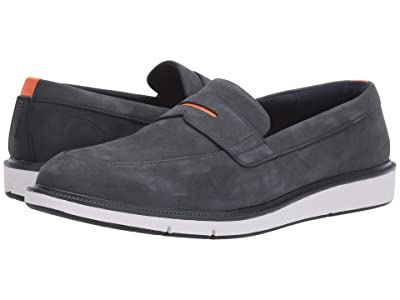 SWIMS Motion Penny Loafer (Navy/White/Orange) Men