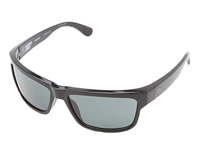 Spy Optic Frazier (Happy Lens) (Black Happy Grey Green Polar) Sport Sunglasses