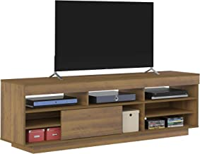 Artely Treviso TV Table for 60 inch TV, Pine/Off White - H 56.5 cm x W 180 cm x D 41.5 cm