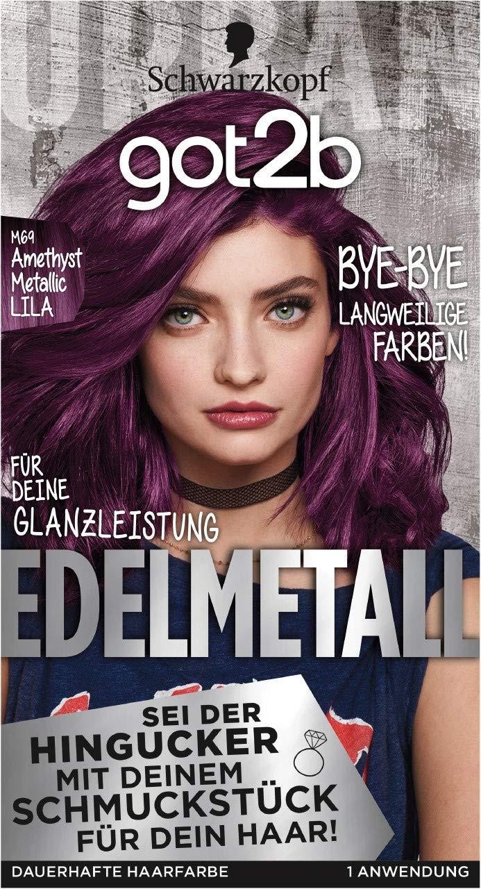 Haarfarbe dunkel lila Blondierung: Tipps