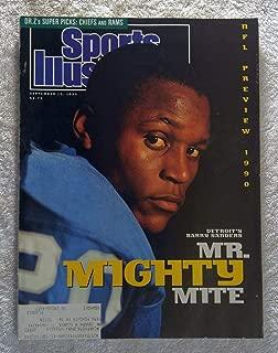 Barry Sanders - Detroit Lions - Sports Illustrated - September 10, 1990 - SI