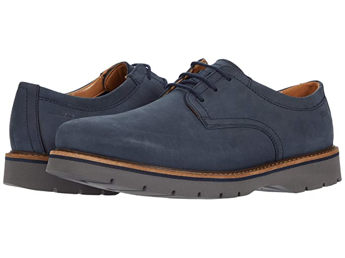 Men's 1950s Shoes Styles- Classics to Saddles to Rockabilly Clarks Bayhill Plain $77.22 AT vintagedancer.com