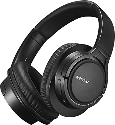 Mpow Cuffie Bluetooth 4.1 Stereo H7, Cuffie Over-Ear Con Autonomia 18 Ore, Cuffie Chiuse Wireless CSR, Cuffie Bluetooth Senza Fili Con Microfono Per iPhone/iPad/Samsung/Sony/Huawei Altri Telefoni e PC