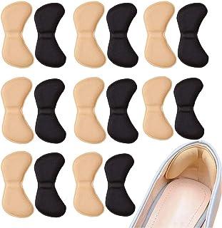 8 paia Cuscini per tallone Pad Heel, Heel Liners comode per scarpe antiscivolo autoadesivo Solette per la cura del piede