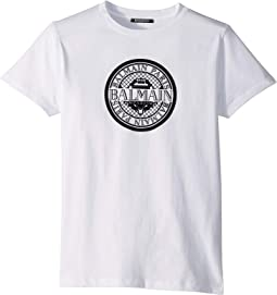 Short Sleeve Coin Logo Tee (Big Kids)