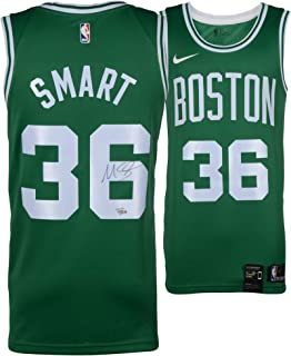 8559e830567 Marcus Smart Boston Celtics Autographed Green Nike Swingman Jersey -  Fanatics Authentic Certified - Autographed NBA