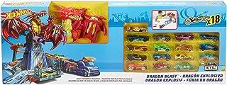 Hot Wheels Dragon Blast Playset + 18 Cars