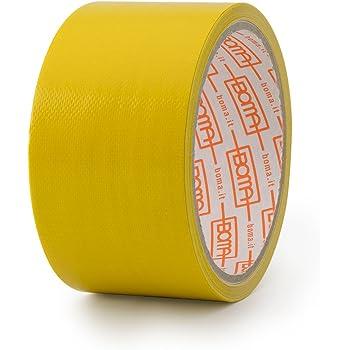 Boma Ruban adh/ésif toil/é pour r/éparations B47008700011 50 mm x 5 m couleur jaune