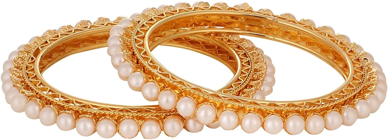 Efulgenz Indian Bangles Bollywood Traditional Ethnic Faux Rhinestone Bangle Bracelets Bridal Wedding Jewelry For Women