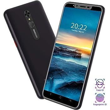 Moviles Libres 4G 5.5 Pulgadas 8MP+5MP Fingerprint Unlock 1GB RAM 16GB ROM/Extendida 128GB Telefono movil 4800mAh Bateria, Dual SIM Móviles y Smartphone Libres Android 9.0: Amazon.es: Electrónica