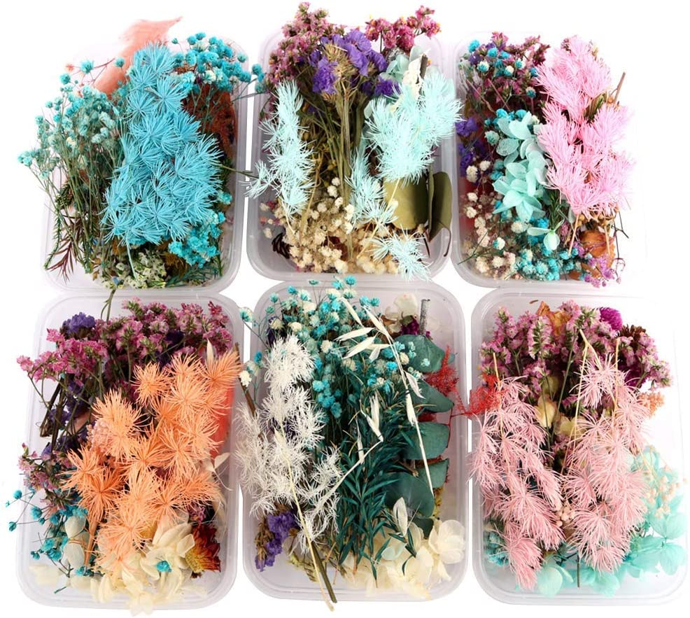 VELIHOME Wood Picture Weekly update Frames Dried Financial sales sale Flow Flower Real Frame